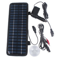 12V 200mA 3.5W Portable Pre-wired Solar Powered Panel Battery Charger For Car