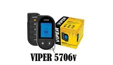 Viper 5706V Remanufactured 2 Way LCD Remote Starter Car Alarm 5706VB