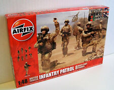 AIRFIX A03701 BRITISH FORCES INFANTRY PATROL Plastic Model Kit Makes 8 Soldiers