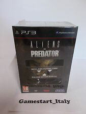 ALIENS VS PREDATOR COLLECTOR'S EDITION - PS3 - NUOVO SIGILLATO NEW - PAL ITA
