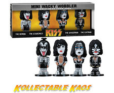 Kiss - Mini Wacky Wobbler Bobble Head 4 Pac