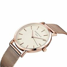 Rosefield Watch Womens White/ Rose Gold Mercer Watch MWR-M42 FREE GIFT wpurchase