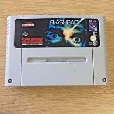 Flashback for Super Nintendo (Snes) - Lovely condition (cart only) PAL Version