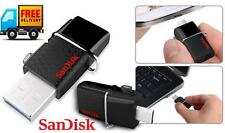 Open SanDisk 32 GB OTG Dual USB 3 0 Pendrive Ultra Dual USB Drive +VAT Bill