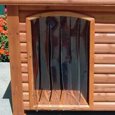 Precision Pet 14.5 by 9.8-Inch Outback Dog House Door, Small New