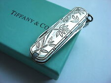 Tiffany & Co. Sterling Silver Victorinox Swiss Army Knife - Bamboo leaves
