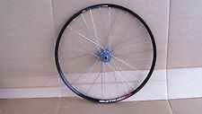"Ztr Crest Stans no tubes / Sun Ringle Radium 100 x 15 26"" front wheel xc mtb"