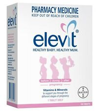 Elevit Vitamin and Mineral 100 Tablets OzHealthExperts