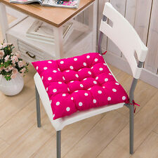 Chair Foam Cushion Seat Pads Tie On Removable Room Garden Kitchen Dining Table