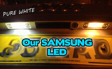 Vauxhall Corsa  LED Canbus, NUMBER PLATE LIGHT BULBS, WHITE, 501 W5W T10 SAMSUNG
