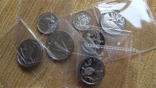 SELECTION OF 7 PROOF COINS FROM THE 1970'S PROOF SETS,A SUPER LOT OF 7