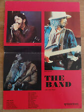 Aushangbild* THE BAND Bob Dylan Ron Wood Paul Butterfield 42 x 30 cm