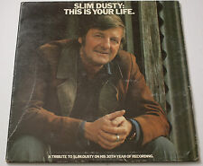 Slim Dusty This Is Your LIfe  LP Vinyl Record
