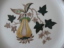 Vintage Wedgwood of Etruria & Barlaston Avocado plate dating from mid-60s