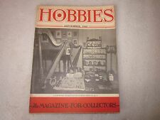 1945 Hobbies The Magazine for Collectors September issue Virginia Morgan Harp