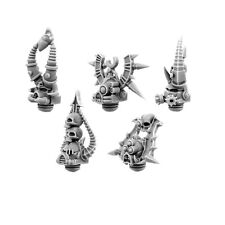 28 mm scale CHAOS HEADS SET OF BLOOD RAGE (FOR FIVE UNITS)