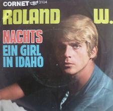 """7"""" 1967 CORNET RARE IN VG+++ ! ROLAND W. : Nachts"""