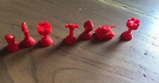 Game Of Nations Waddingtons Spare Replacement Red Pieces F30