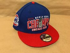 Chicago Cubs Custom New Era 9FIFTY 2016 World Champs Snapback Limited Edition