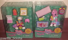 My Little Pony Ponyville Lot Bake with Rainbow Dash Get Pinkie Pie ready for Bed