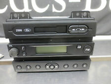 Ford 2500 Stereo Cassette FM Radio Head Unit with Key Code Part No 1332700