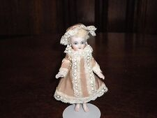 BEAUTIFUL, FRENCH REPRO. ALL BISQUE MIGNONETTE UFDC ARTIST CATHY HANSEN DOLL