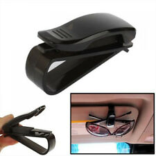 Black Auto Sun Visor Sunglasses Car Card Pen Ticket Holder Clip Universal