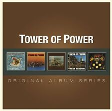 Tower Of Power ORIGINAL ALBUM SERIES Box Set OAKLAND Urban Renewal NEW 5 CD