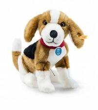 Steiff Nelly The Beagle Dog EAN 355028 Plush Stuffed Animal Play Toy New Gift