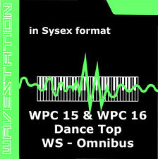 sysex sound for Korg Wavestation of the WPC-15 WPC-16 Dance top and omnibus card