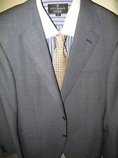 CANALI MEN'S PINPOINT BLUE SUIT JACKET BLAZER SPORTS COAT 42 LONG MADE IN ITALY
