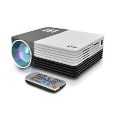 New Digital Multimedia Projector, HD 1080p, Up to 120'' inch Display, Mac & PC
