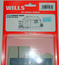 New Wills Scenic Series Garden Sheds SS58