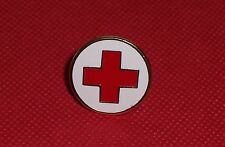 DISTINTIVO METALLO CROCE ROSSA ITALIANA CRI C.R.I. SPILLA RED CROSS PINS STEMMA