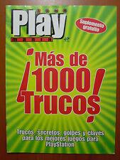 Más de 1000 trucos de PlayManía: claves, secretos para PS1 / PSone en Castellano