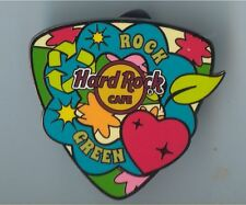 Hard Rock Online 2013 Earth Day Guitar Pick #3 Pin LE 50