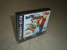 EARTHWORM JIM S.E..SEGA MEGA CD PAL .REPLACEMENT CASE+INLAYS ONLY.NO GAME
