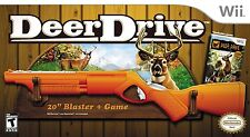 Deer Drive with Rifle Hunting Bundle WII New Nintendo Wii
