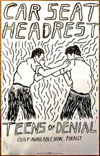 CAR SEAT HEADREST Teens Of Denial 2016 Ltd Ed RARE NEW Poster +FREE Indie Poster