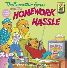 First Time Books(R): The Berenstain Bears and the Homework Hassle by Jan...