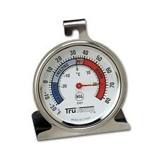 Taylor Freezer / Refrigerator Oven Thermometer - Stainless Steel