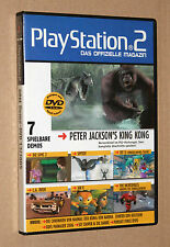 PS 2 Offizielle Magazin Demo DVD Jak X Sly 3 SpyToy  L.A. Rush  etc  13/2005