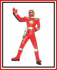 Power Rangers Sentai Hero Vinyl Figure _ Dino-Thunder Red Triassic Ranger