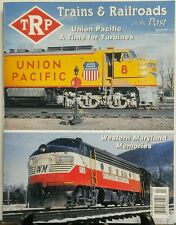 Trains & Railroads of the Past Issue 4 Union Pacific Turbines FREE SHIPPING sb