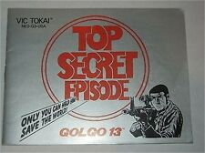 ***GOLGO 13 NINTENDO NES MANUAL***