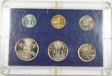 1980 Spain Soccer Set 6 UNC Coins for the 1982 World Cup