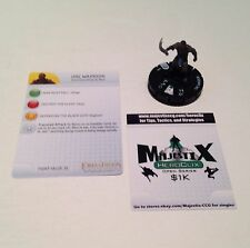 Heroclix LotR: Fellowship of the Ring set Orc Warrior #008 Common figure w/card!