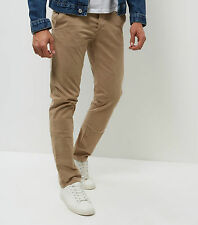 Mens New Look Slim Chinos Trousers Waist 28 30 32 34 36 Leg 28 30 32 34