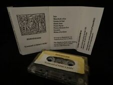 GRAVEWURM Command Of Satan's Blade 1998 DEMO LIMITED MC CASSETTE