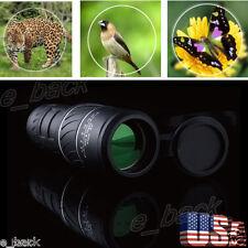 Day&Night Vision 40x60 HD Optical Monocular Hunting Hiking Camping Telescope Hot